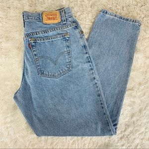 """Levi's Relaxed Tapered Mom Jeans Sz 14 waist 33"""""""